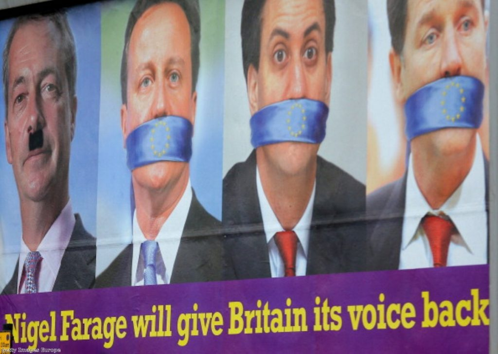 The two main political parties have struggled to be heard this year