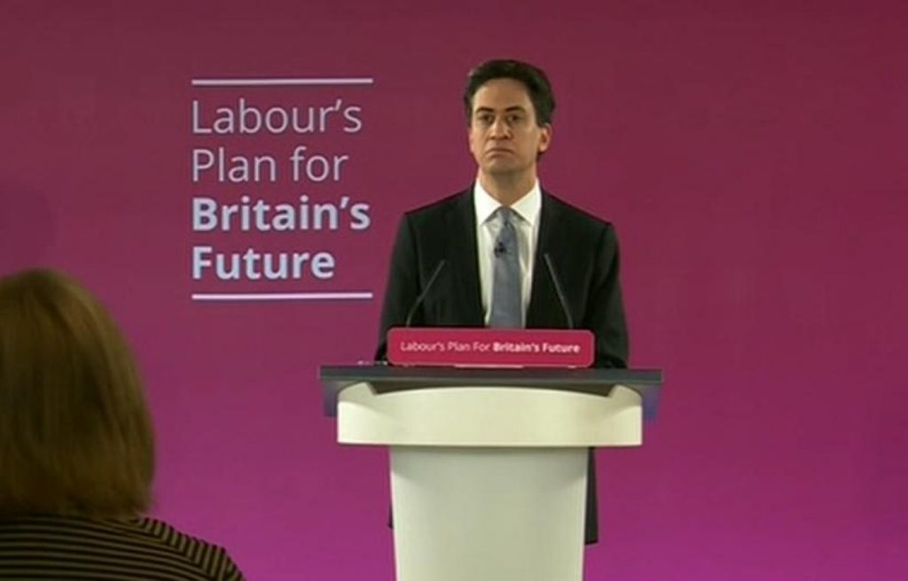 Ed Miliband election campaign launch speech in full