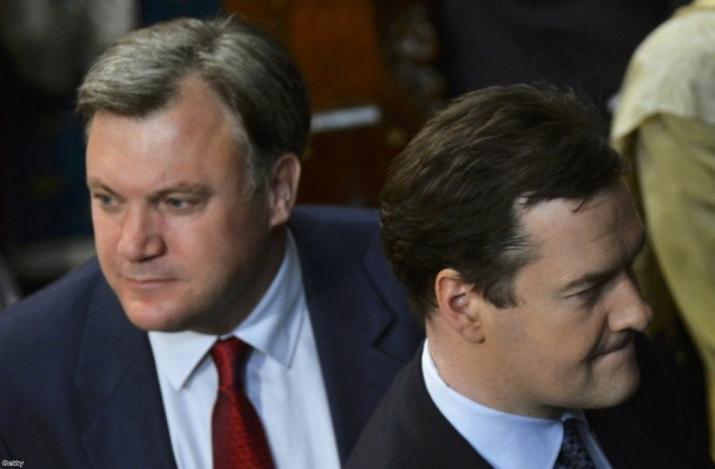 Ed Balls and George Osborne: Brothers in arms