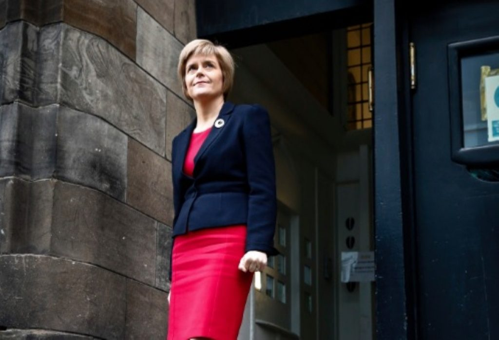 Nicola Sturgeon: Confidence and supply with Labour would give SNP influence in Westminster
