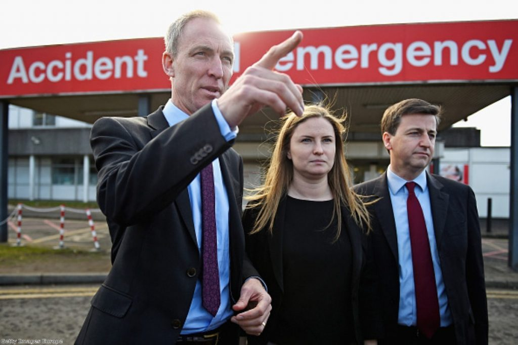 Hanging by a thread: Even Jim Murphy could lose his seat