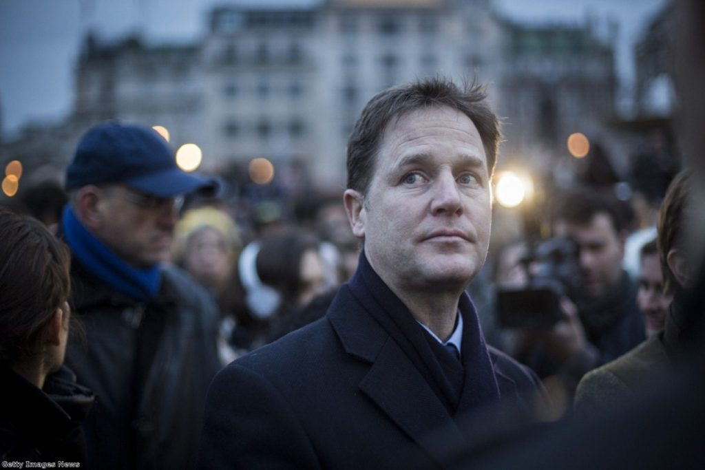 Clegg's drug reform campaign has seen him targeted by mid-market tabloids and Conservative-supported think tanks