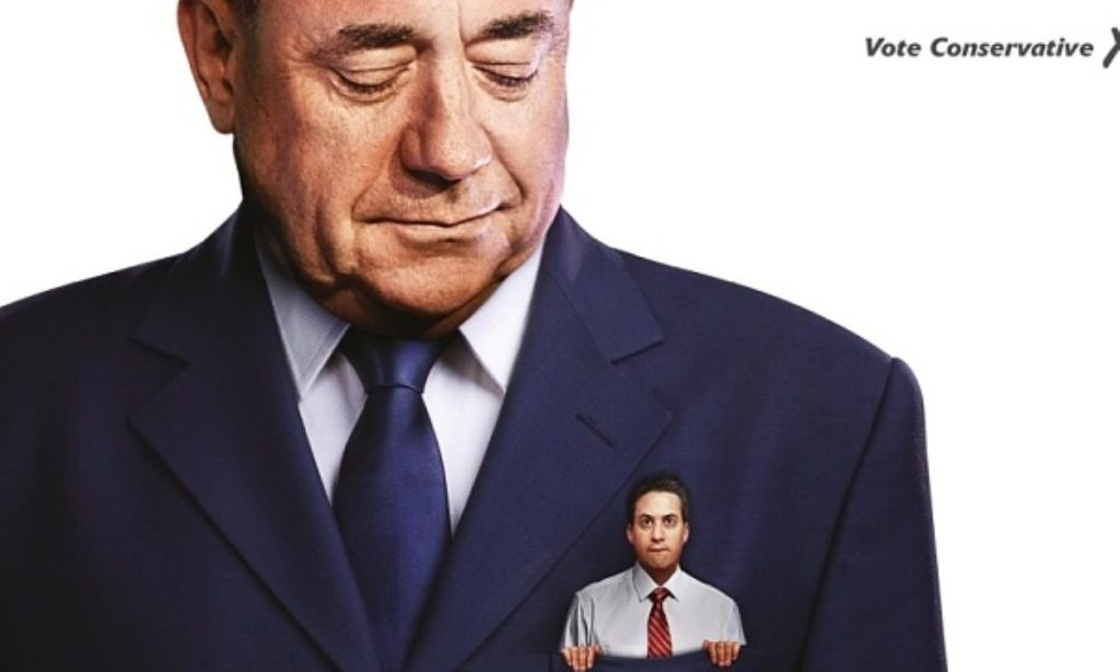 The Tory election poster over a possible Labour-SNP pact typifies the campaign so far