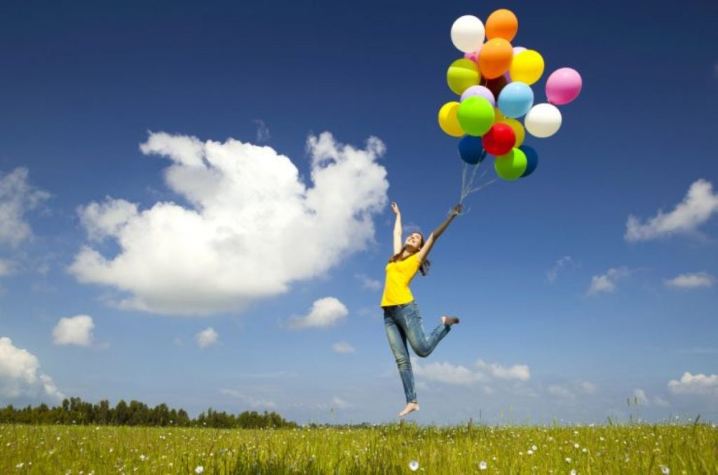 Happy go lucky: Laughing gas is taken through balloons and is very popular among young people
