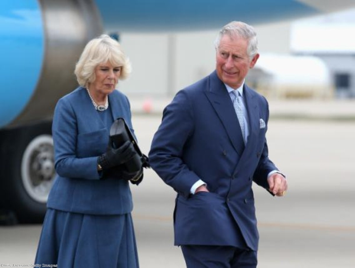 Prince Charles' 'black spider' letters are so-called because of his spindly handwriting