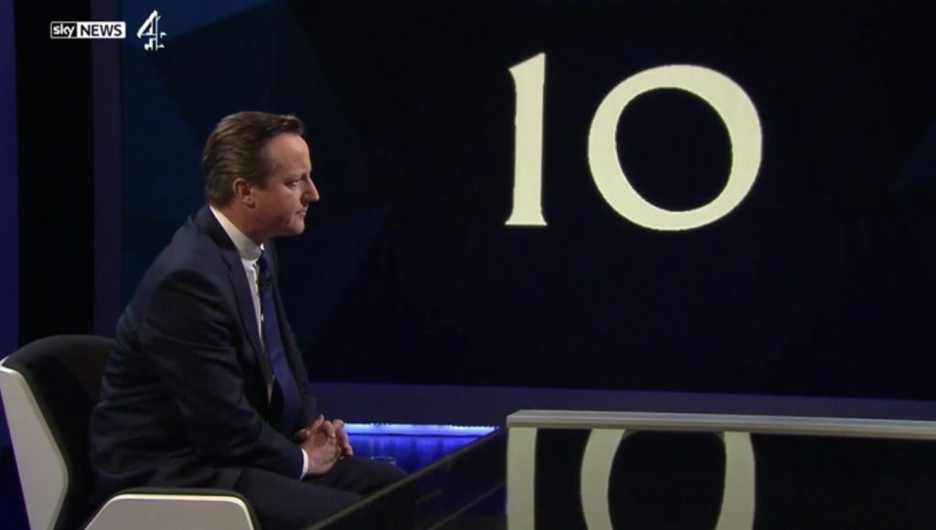 David Cameron emerged as the polls' victor from last night's questioning