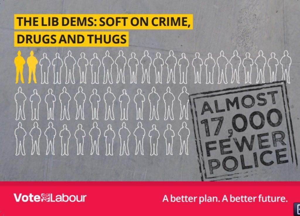 Labour leaflet attacks Lib Dem drug policy