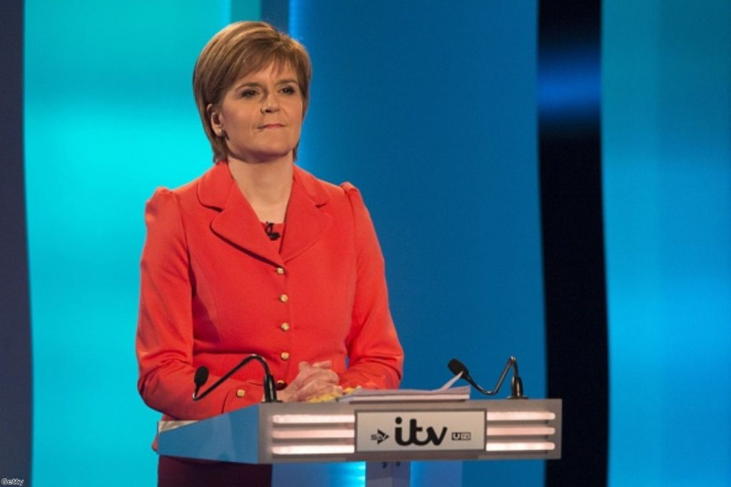 Nicola Sturgeon's stock continued to rise this week
