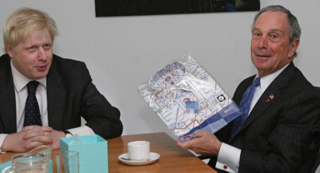 Boris Johnson and Michael Bloomberg: London calling?