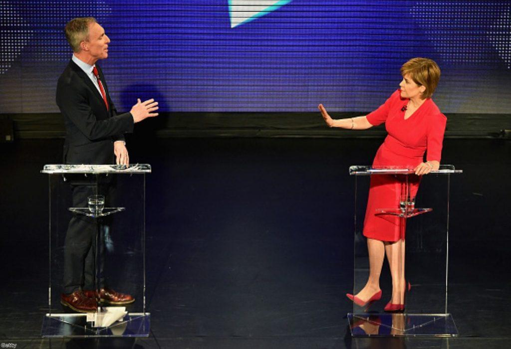 Jim Murphy failed to break through during this week's leaders' debate