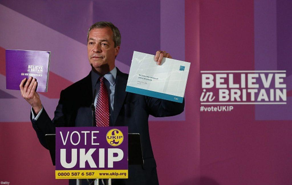 """Nigel Farage: """"Believe in Britain"""""""