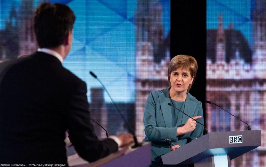 Nicola Sturgeon in full attack mode