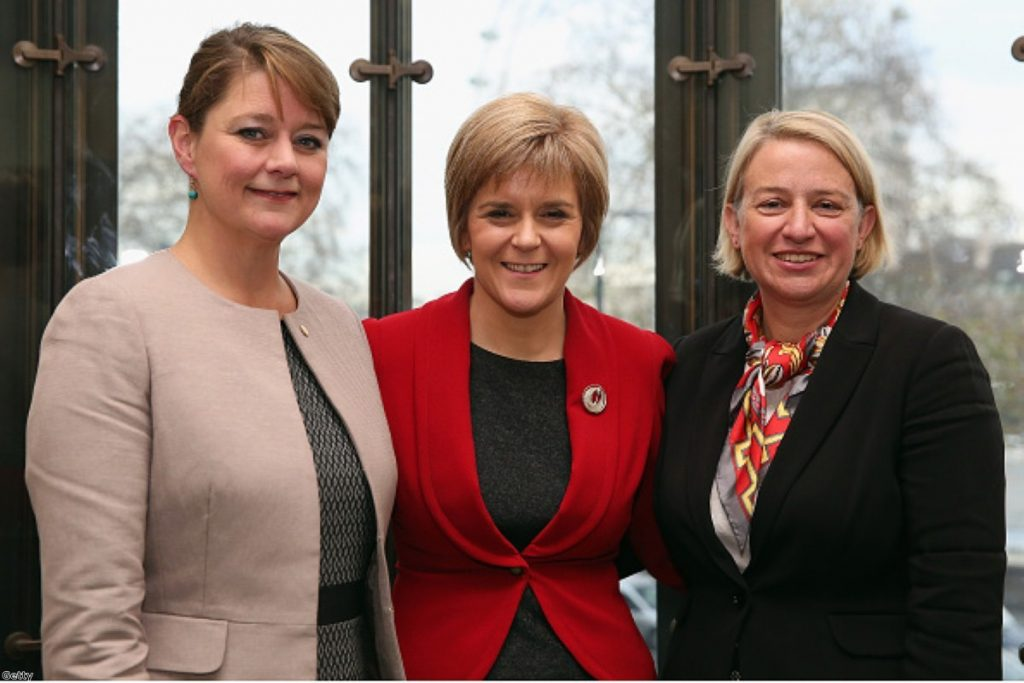 The rise of women in British politics has not been universally welcomed