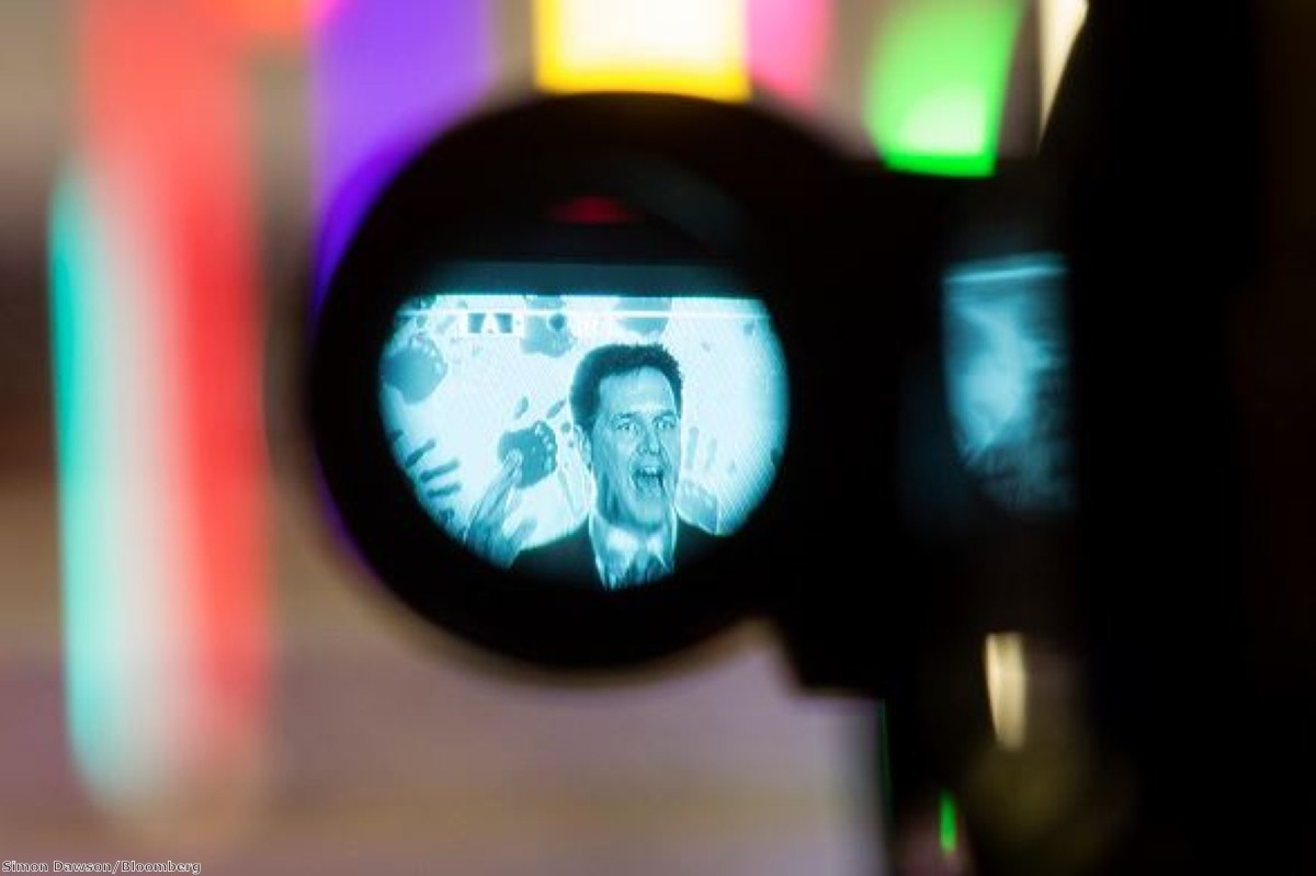 Life through a lens: Nick Clegg faces scrutiny from the cameras