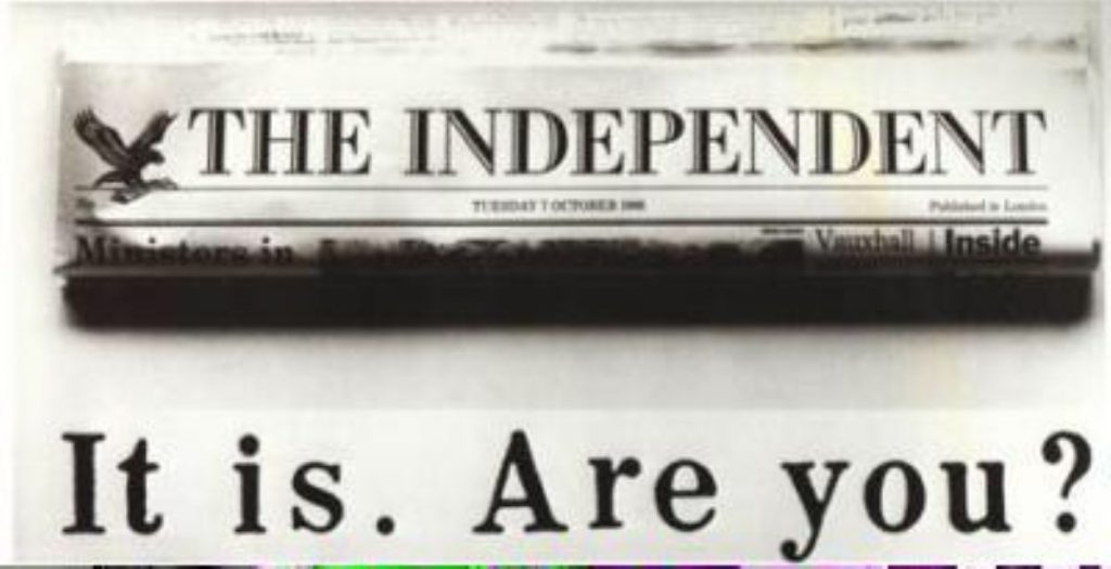 Independent releases surprise endorsement of Conservative-led coalition