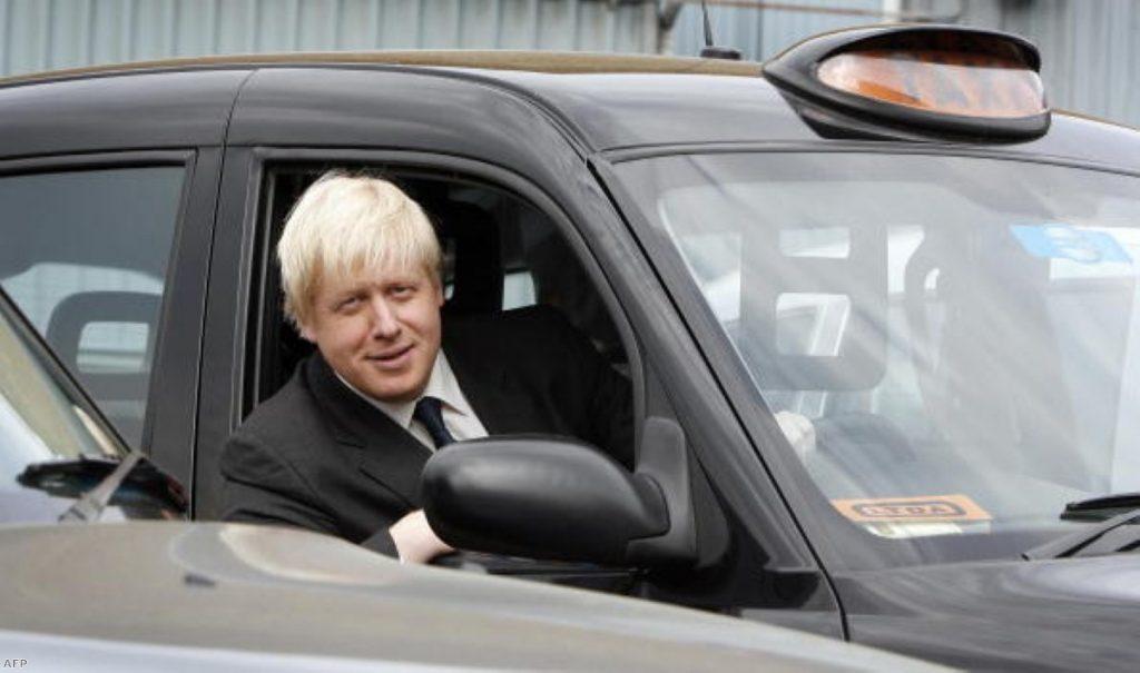 Boris Johnson: No longer the cabbies' friend