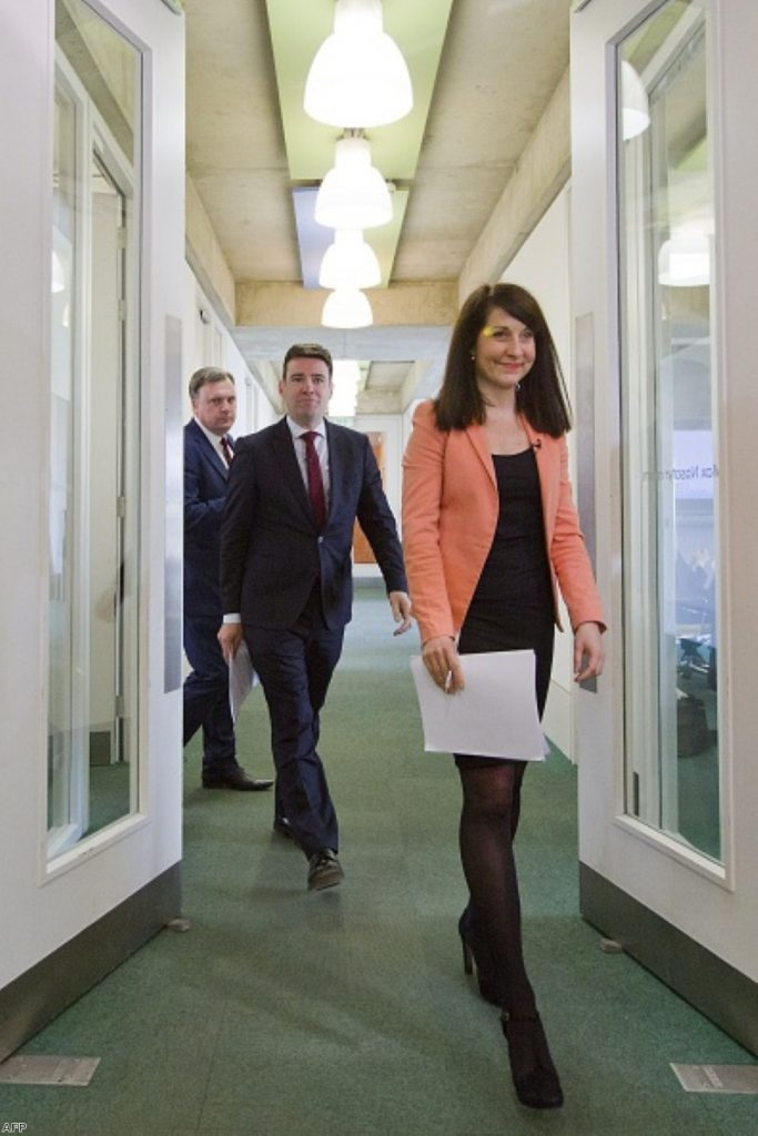 Liz Kendall and Andy Burnham: In the comfort zone
