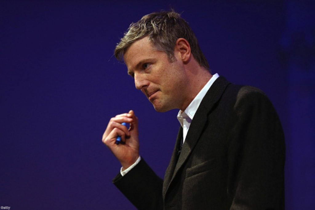 """Zac Goldsmith: """"the greatest potential obstacle to Labour winning City Hall"""""""