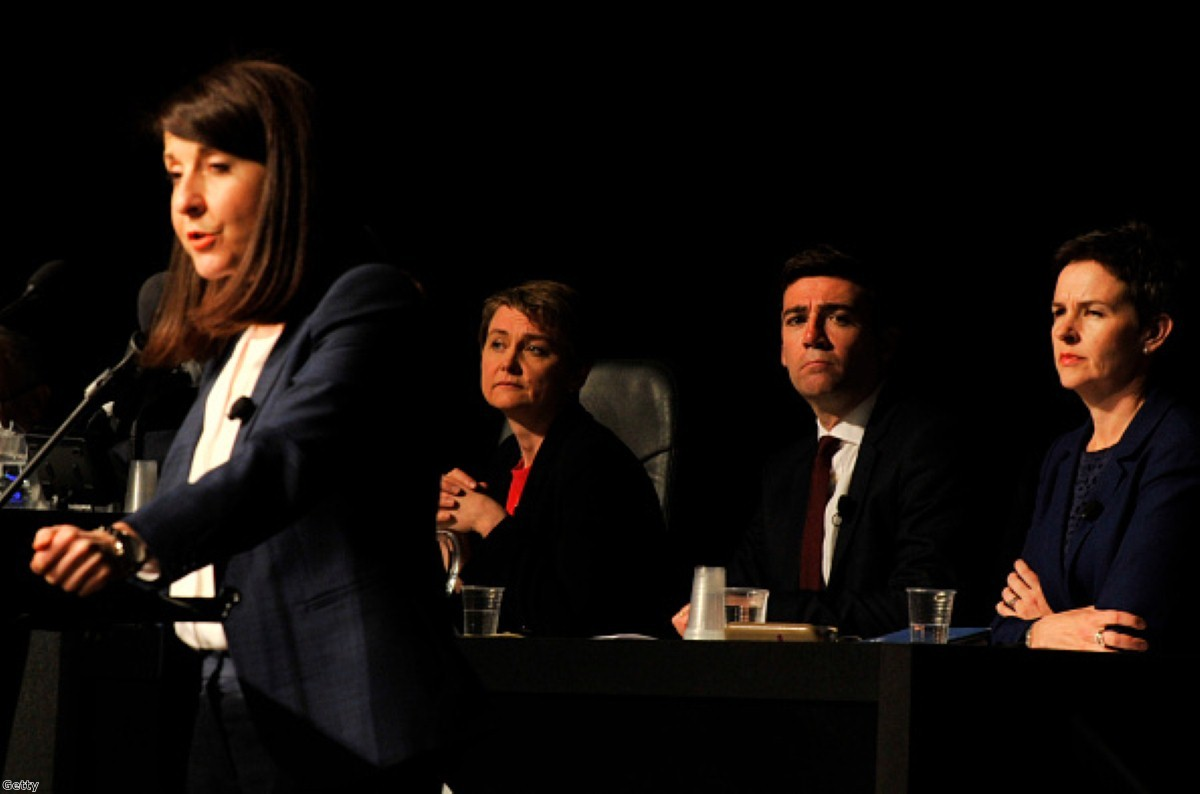 Labour's leadership contest continued it's uninspiring course this week