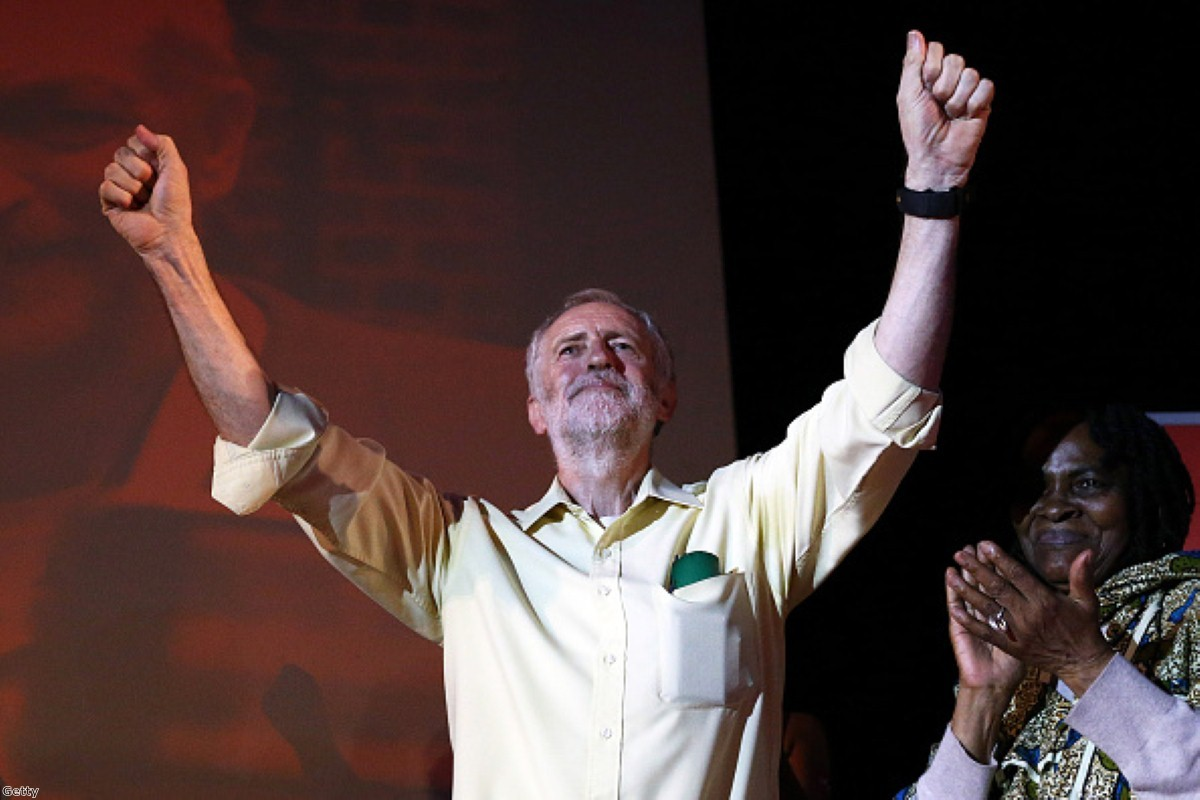Jeremy Corbyn has some reasons to feel good about his performance so far