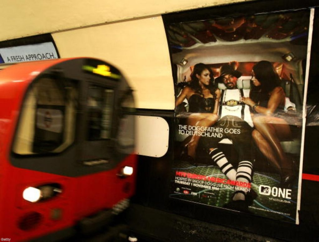 Adverts depicting an 'unrealistic body image' will be banned by TfL