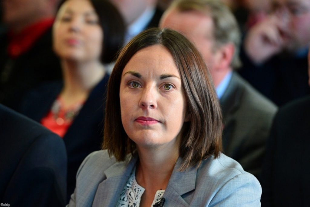 Kezia Dugdale says Scots stopped listening to Labour