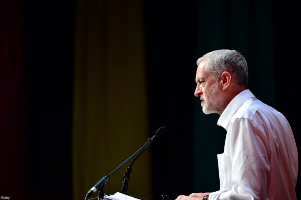 Corbyn's opposition to a bombing campaign in Syria is at odds with his support for the Kurds