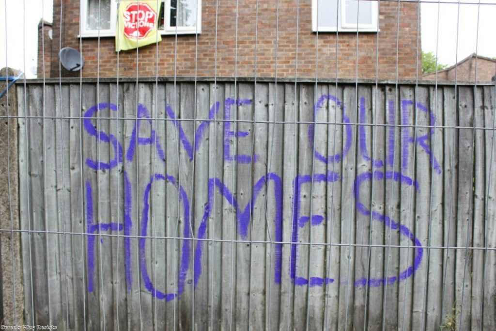 """In the midst of this crisis, groups of campaigners and local residents have fought tirelessly to protect what's left of London's social housing"""