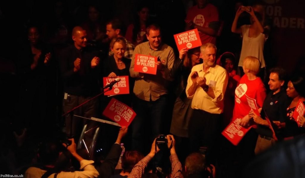 Corbyn is a major shift to the left for Labour