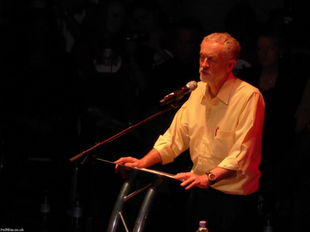The presentation of this early stage of Corbyn leadership is spin
