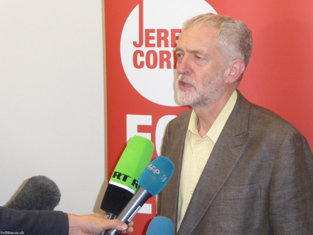 The Labour leader has come under fire for his relationship with Stop the War