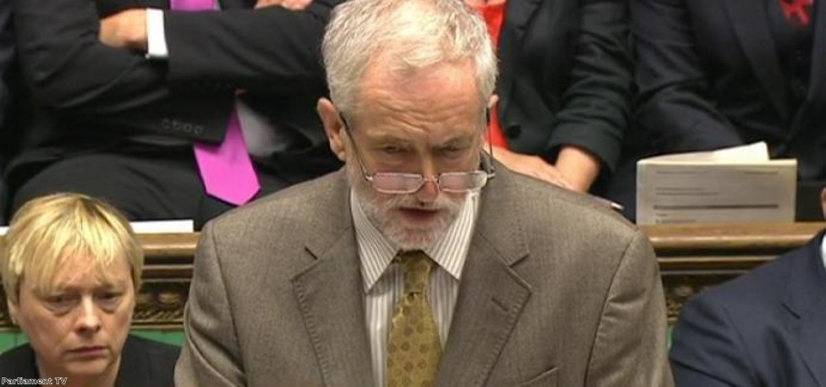 Jeremy Corbyn impressed at this week's PMQs