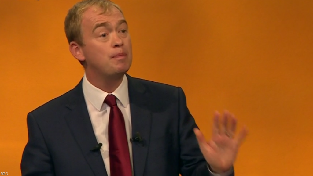 """Tim Farron: """"Even when we are insiders we are outsiders"""""""