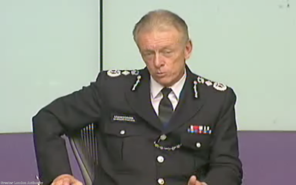 "Bernard Hogan-Howe: Stop and search reductions have ""gone too far"""