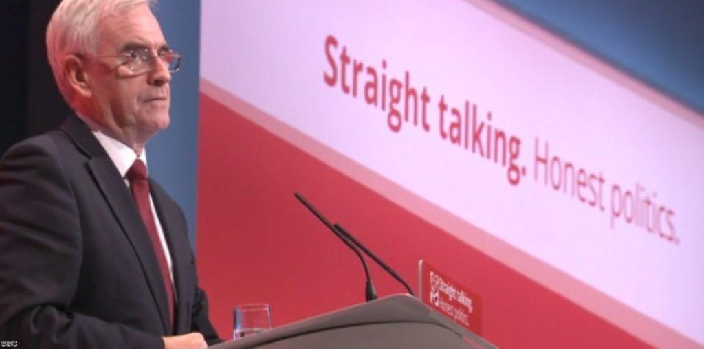 John McDonnell: Both for, then against Osborne's fiscal charter