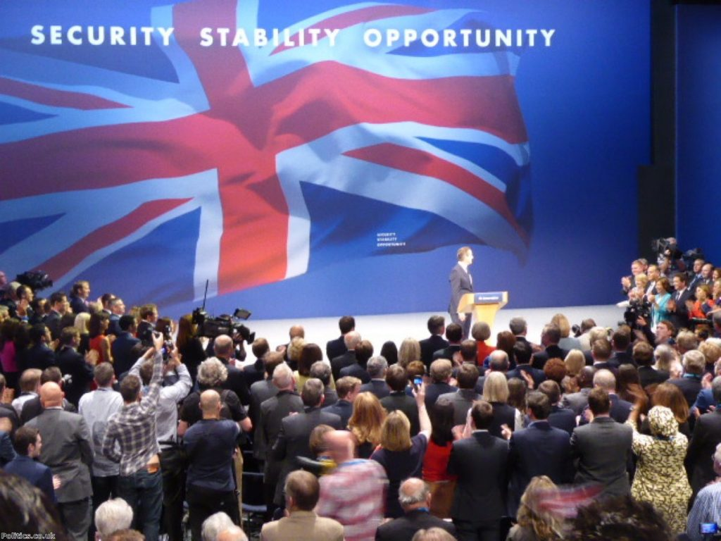 Cameron delivered a triumphant speech to the Conservative party conference this week