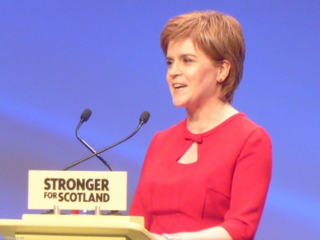 Some on the left are upset that Sturgeon has U-turned on restoring the 50p rate for higher earners