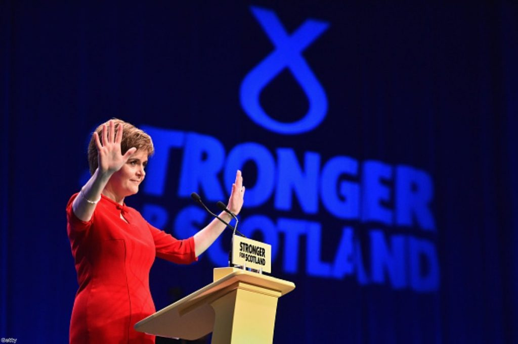 Nicola Sturgeon brilliantly harnessed Scots' natural patriotism in her conference speech