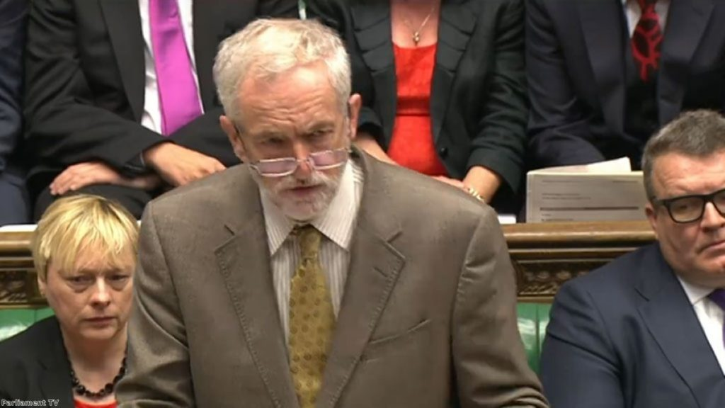 Corbyn has won PMQs three weeks in a row