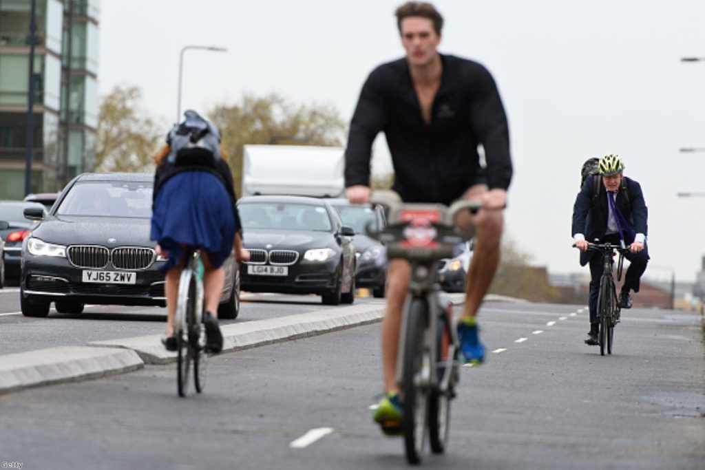 Boris Johnson's cycling commissioner attacks reporting of London's flagship cycle scheme