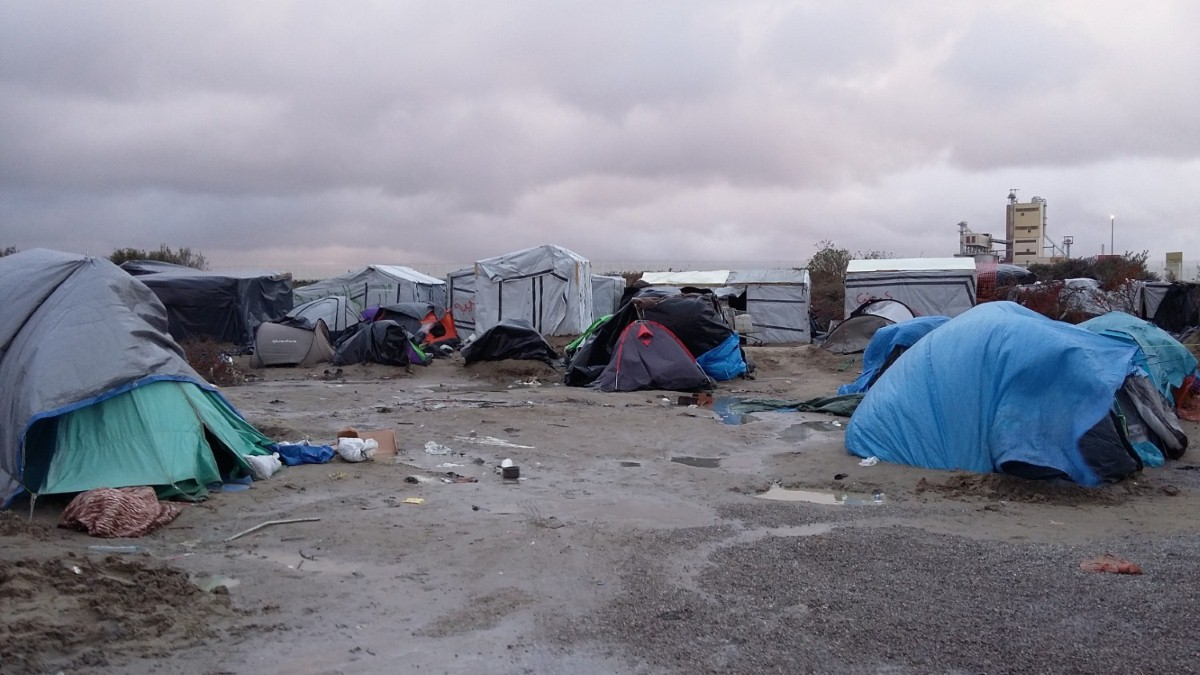 Conditions in the Calais jungle are deteriorating