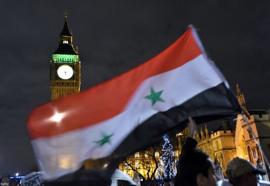 MPs debate whether Britain should launch air strikes against IS in Syria