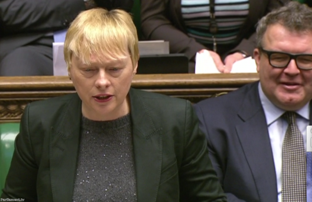 Angela Eagle easily bests George Osborne as they stand in for their party leaders