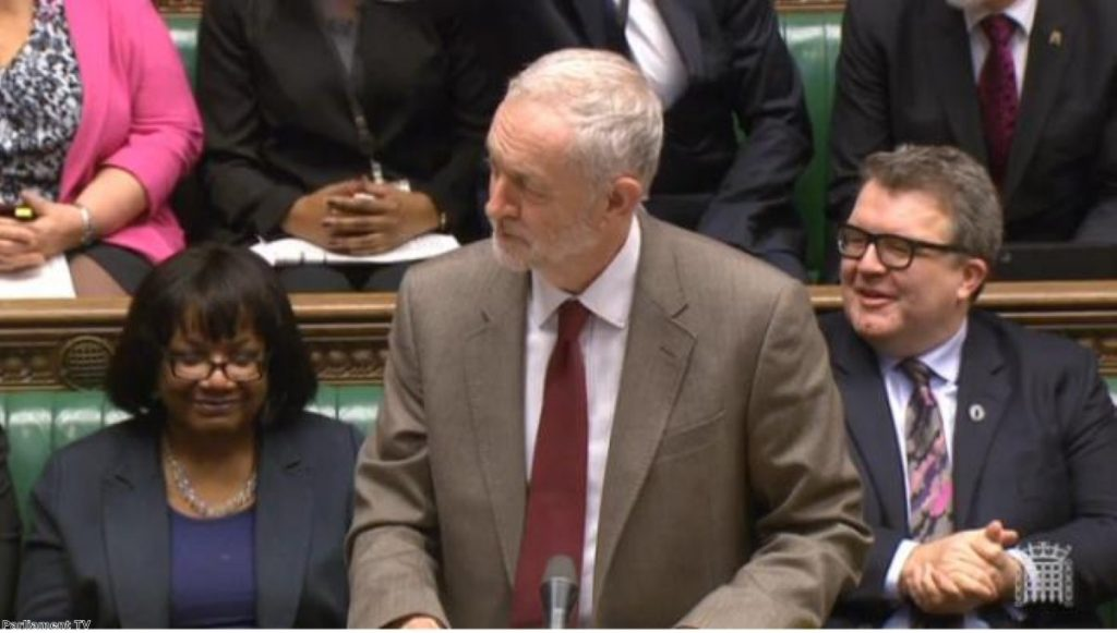 Corbyn's dress sense was targeted by Cameron during PMQs
