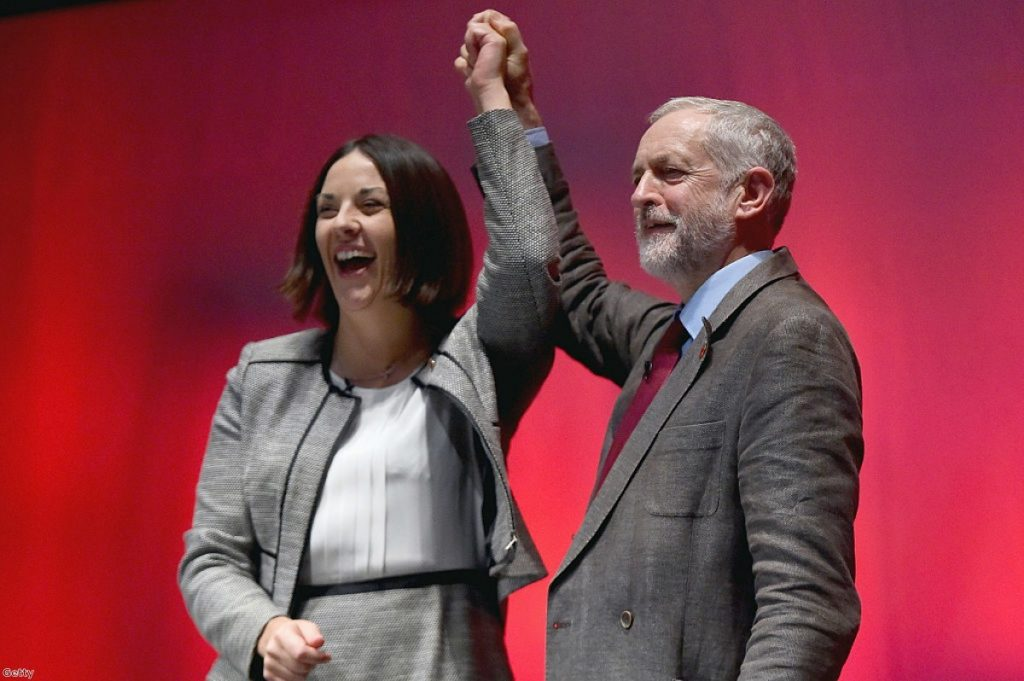 Labour hopes of a Scottish revival have failed to be realised under Jeremy Corbyn