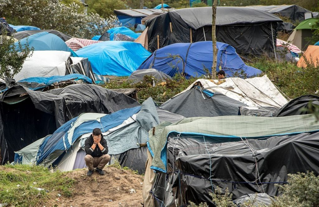 """Cameron called the people in Calais refugee camps a """"bunch of migrants"""" during today's PMQs"""