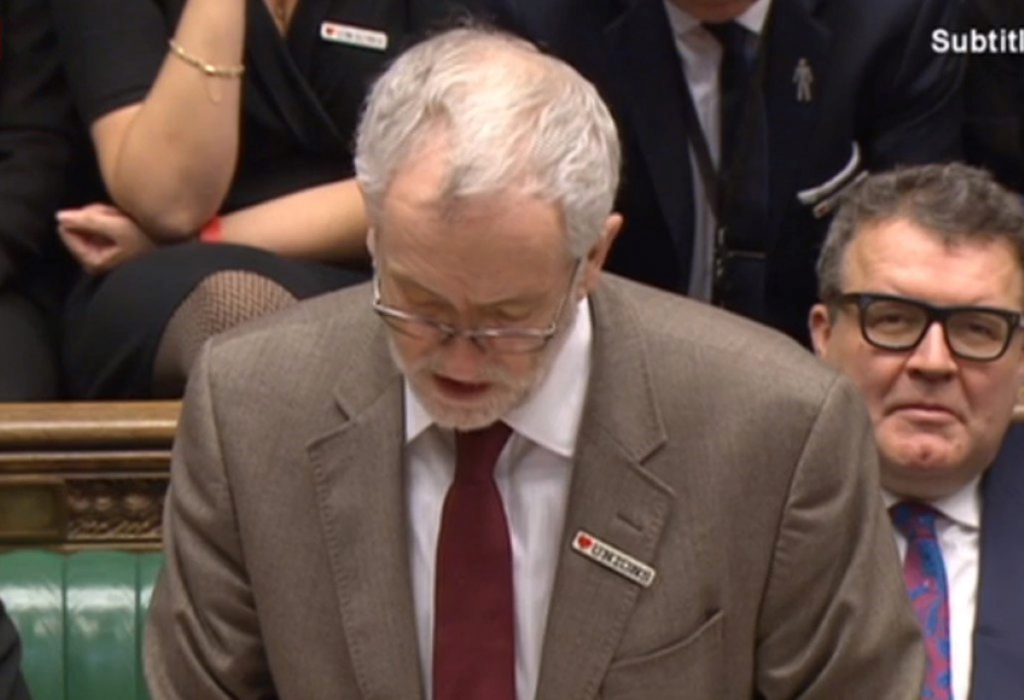 Corbyn needs to be a little more professional if he's going to be taken seriously