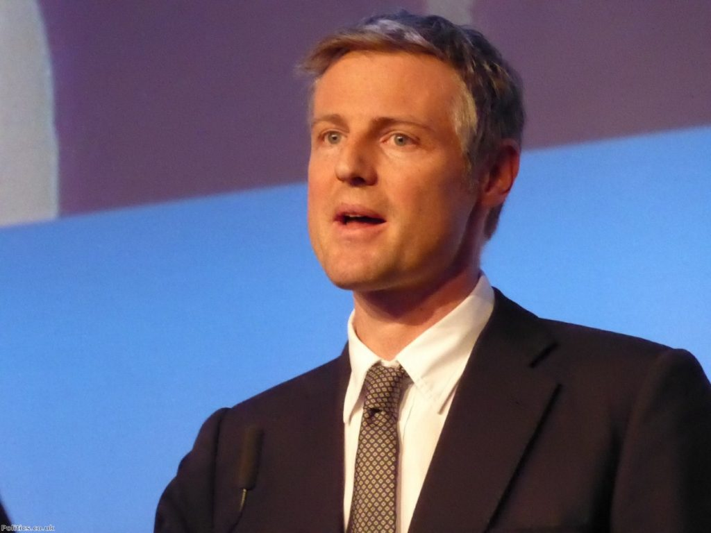 Zac Goldsmith has chosen principle over power and won't be rewarded for it