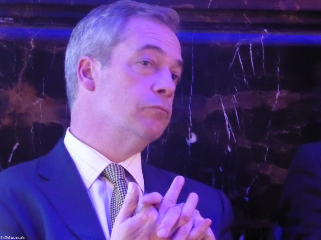 """Nigel Farage on Carswell: """"He can do what he likes. I don't care. He's irrelevant."""""""