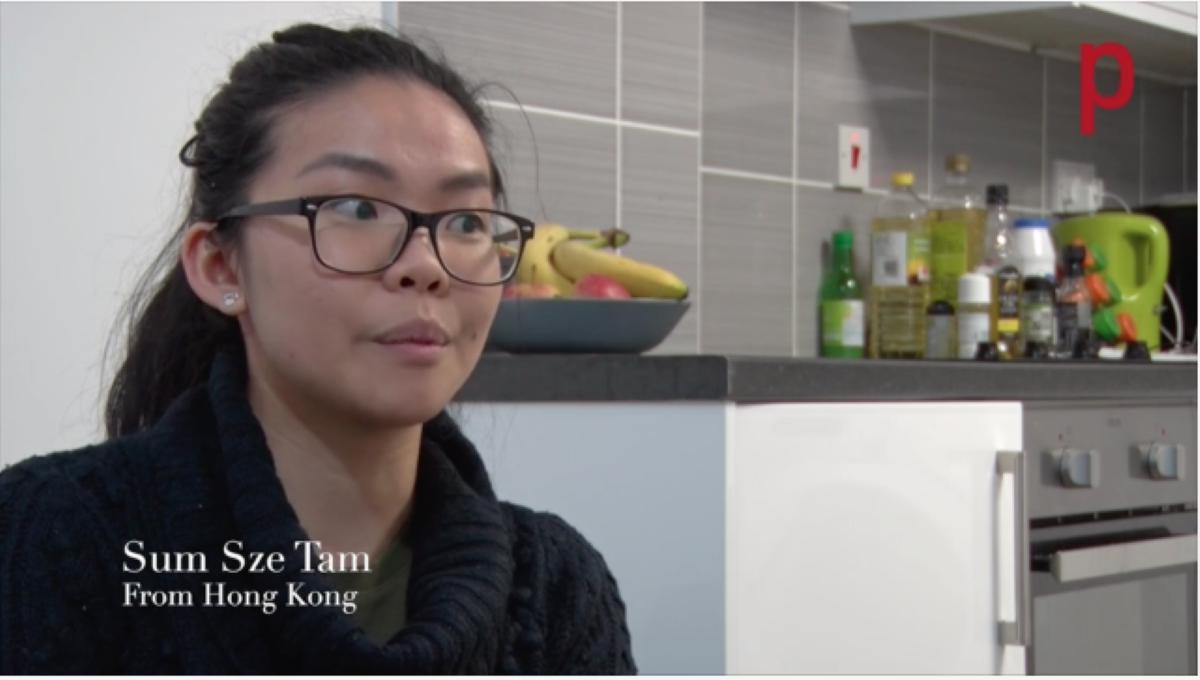 Sum Sze from Hong Kong